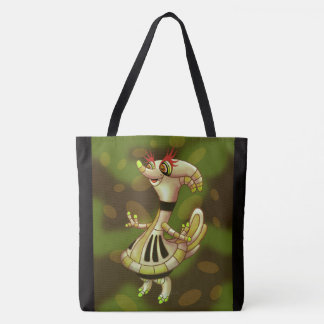 VOLONNE ROBOT All-Over-Print Tote Bag Large