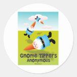 Volquetes del gnomo anónimos etiquetas