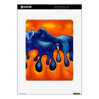 Volsiphina V1 - dropping face iPad Skin