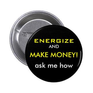 """Volt """"Energize & Make Money"""" Button"""