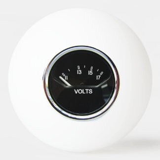 """""""Volt Meter"""" design gifts and products Ping Pong Ball"""
