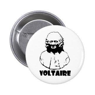 Voltaire 2 Inch Round Button