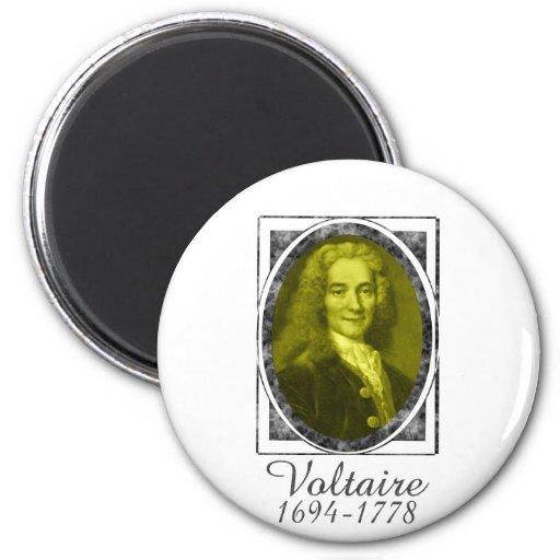 Voltaire 2 Inch Round Magnet