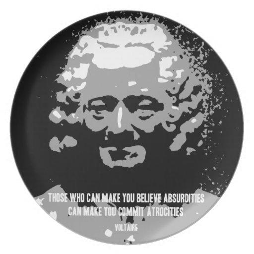 Voltaire - absurdidades platos