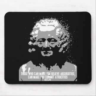 Voltaire - Absurdities Mouse Pad