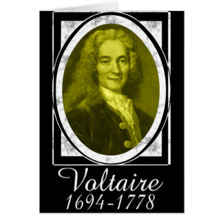 Voltaire Card