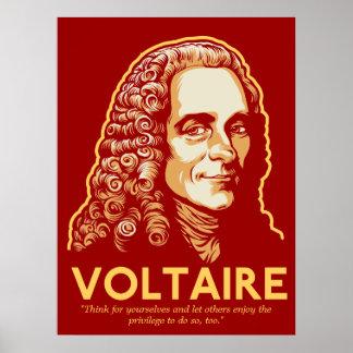 Voltaire Customizable Print