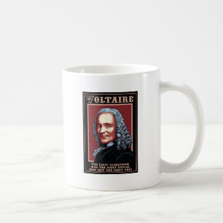 Voltaire - el primer taza básica blanca
