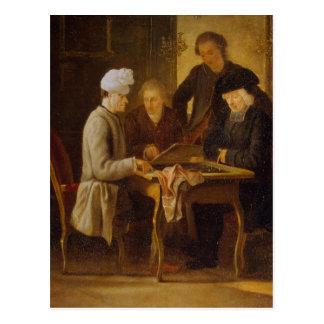 Voltaire en el ajedrez postales