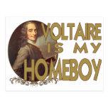 Voltaire es mi Homeboy Postales