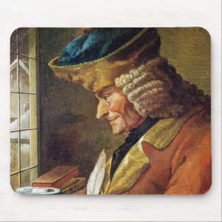 Voltaire  in his Study Mouse Pad