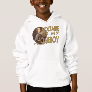 Voltaire Is My Homeboy Hoodie