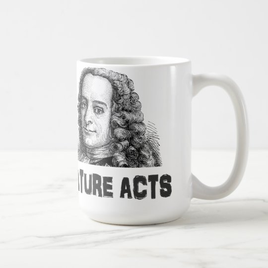 Voltaire: Men and Nature Coffee Mug