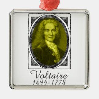 Voltaire Metal Ornament