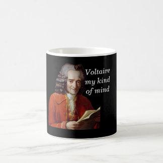 Voltaire my kind of mind coffee mug