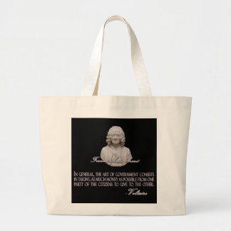 Voltaire on the Art of Government Jumbo Tote Bag