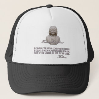 Voltaire on the Art of Government Trucker Hat