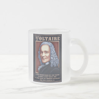 Voltaire - Prayer Frosted Glass Coffee Mug