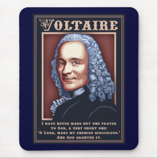 Voltaire - Prayer Mouse Pad