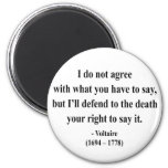 Voltaire Quote 1a Fridge Magnets