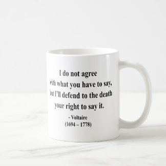 Voltaire Quote 1a Mug