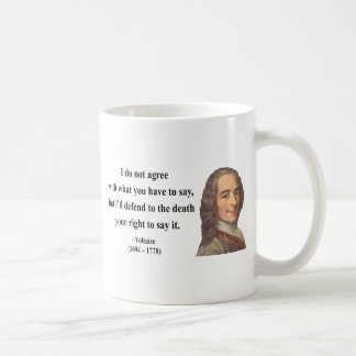 Voltaire Quote 1b Coffee Mug
