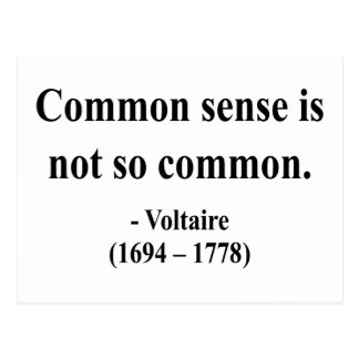 Voltaire Quote 3a Post Cards