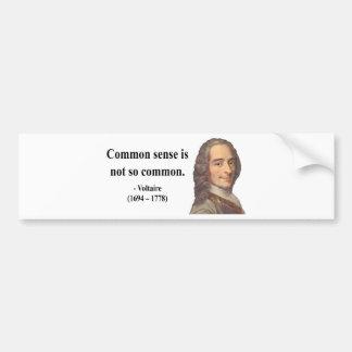 Voltaire Quote 3b Bumper Stickers
