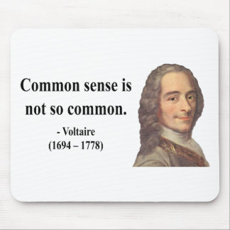 Voltaire Quote 3b Mouse Pad