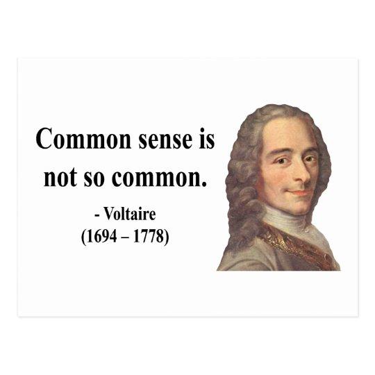 Voltaire Quote 3b Postcard