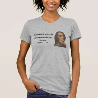 Voltaire Quote 3b T Shirt