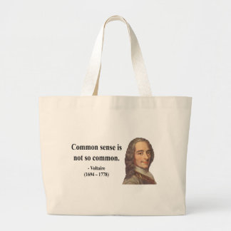 Voltaire Quote 3b Tote Bag