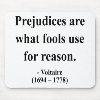 Voltaire Quote 4a Mouse Pads
