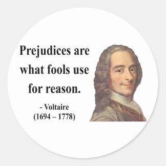 Voltaire Quote 4b Classic Round Sticker
