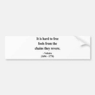 Voltaire Quote 5a Bumper Sticker