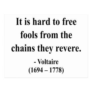 Voltaire Quote 5a Postcard