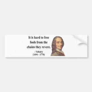 Voltaire Quote 5b Bumper Sticker