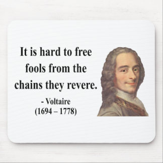 Voltaire Quote 5b Mouse Pad