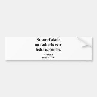 Voltaire Quote 6a Bumper Sticker