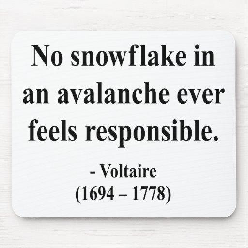 Voltaire Quote 6a Mouse Pad