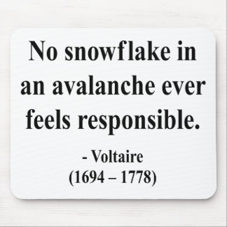 Voltaire Quote 6a Mouse Pads