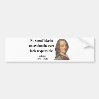 Voltaire Quote 6b Bumper Sticker