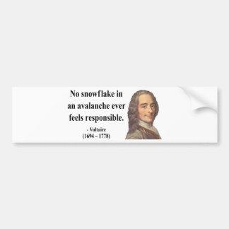 Voltaire Quote 6b Bumper Stickers