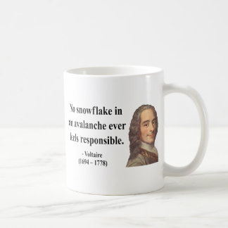 Voltaire Quote 6b Coffee Mug