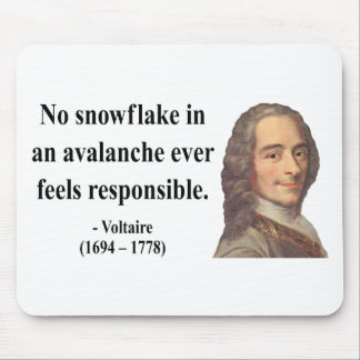 Voltaire Quote 6b Mousepads