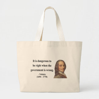 Voltaire Quote 7b Bags