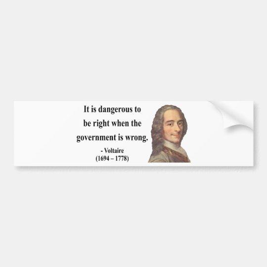 Voltaire Quote 7b Bumper Sticker