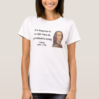 Voltaire Quote 7b T-Shirt