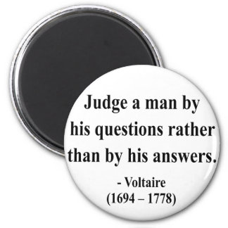 Voltaire Quote 8a 2 Inch Round Magnet