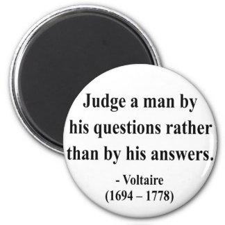 Voltaire Quote 8a Fridge Magnet